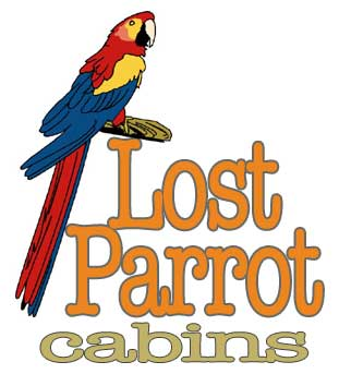 lost parrot cabins at lake travis austin, texas